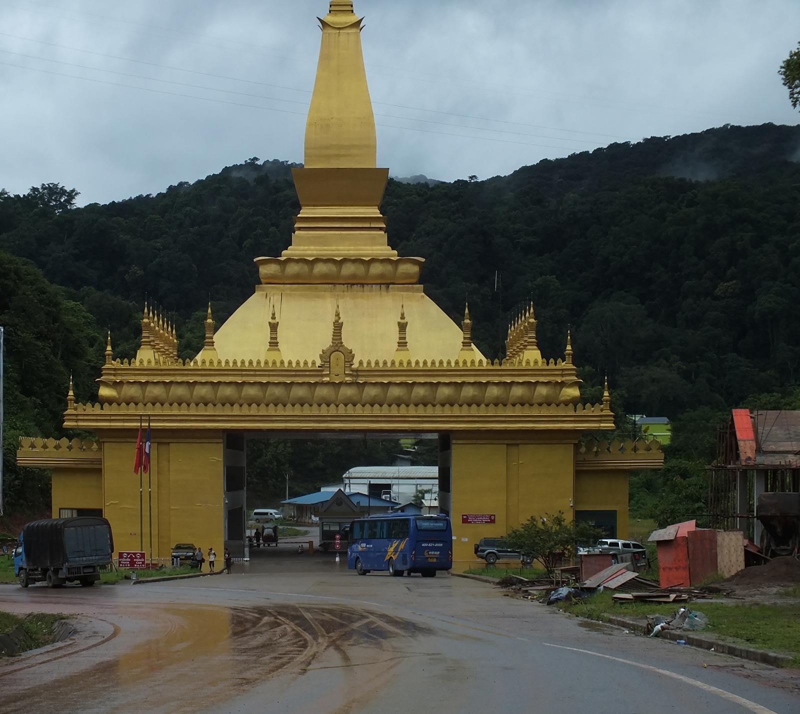 Przejście graniczne Chiny/Laos